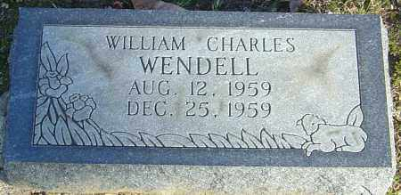 WENDELL, WILLIAM CHARLES - Franklin County, Ohio | WILLIAM CHARLES WENDELL - Ohio Gravestone Photos