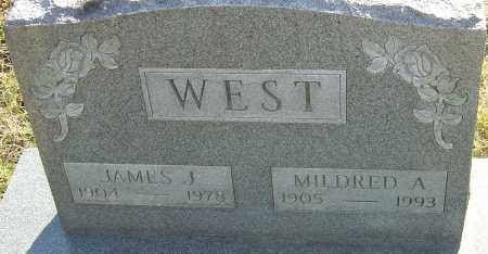 WEST, MILDRED A - Franklin County, Ohio | MILDRED A WEST - Ohio Gravestone Photos