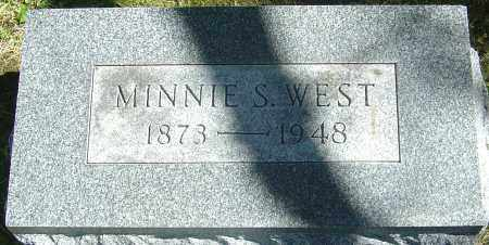 SHOEMAKER WEST, MINNIE - Franklin County, Ohio | MINNIE SHOEMAKER WEST - Ohio Gravestone Photos