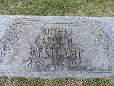 WESTCAMP, CAROLINE - Franklin County, Ohio | CAROLINE WESTCAMP - Ohio Gravestone Photos