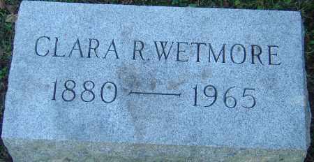WETMORE, CLARA R - Franklin County, Ohio | CLARA R WETMORE - Ohio Gravestone Photos