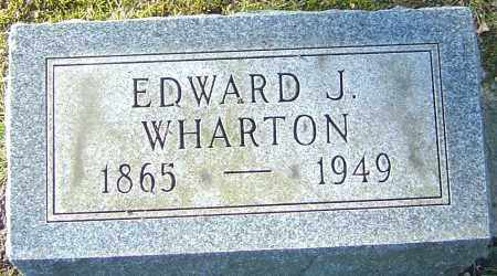 WHARTON, EDWARD JOSIAH - Franklin County, Ohio | EDWARD JOSIAH WHARTON - Ohio Gravestone Photos