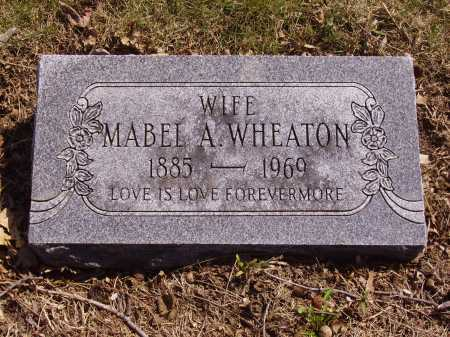 WHEATON, MABEL A. - Franklin County, Ohio | MABEL A. WHEATON - Ohio Gravestone Photos