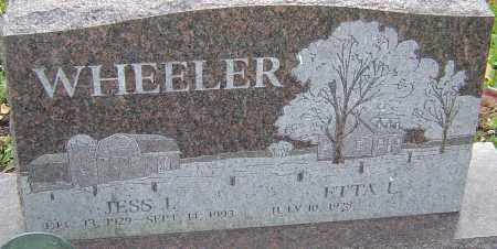 WHEELER, JESS - Franklin County, Ohio | JESS WHEELER - Ohio Gravestone Photos