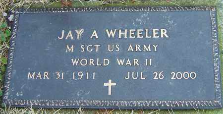 WHEELER, JAY A - Franklin County, Ohio | JAY A WHEELER - Ohio Gravestone Photos