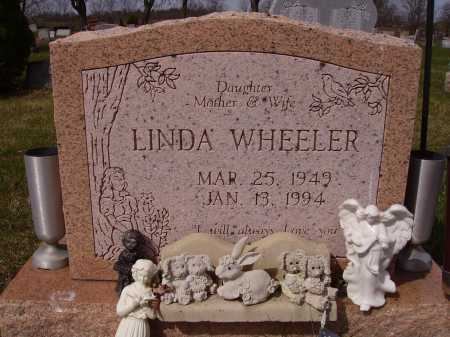 ADKINS WHEELER, LINDA - Franklin County, Ohio | LINDA ADKINS WHEELER - Ohio Gravestone Photos