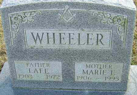 WHEELER, MARIE - Franklin County, Ohio | MARIE WHEELER - Ohio Gravestone Photos