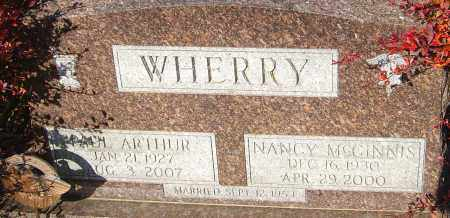 WHERRY, NANCY - Franklin County, Ohio | NANCY WHERRY - Ohio Gravestone Photos