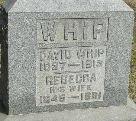 WHIP, REBECCA - Franklin County, Ohio | REBECCA WHIP - Ohio Gravestone Photos