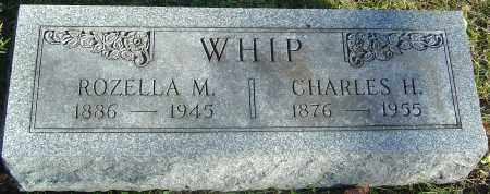 WHIP, CHARLES H - Franklin County, Ohio | CHARLES H WHIP - Ohio Gravestone Photos