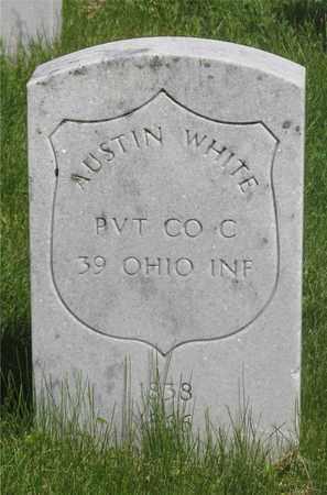 WHITE, AUSTIN - Franklin County, Ohio | AUSTIN WHITE - Ohio Gravestone Photos