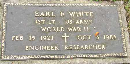 WHITE, EARL - Franklin County, Ohio | EARL WHITE - Ohio Gravestone Photos