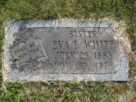 WHITE, EVA L - Franklin County, Ohio | EVA L WHITE - Ohio Gravestone Photos