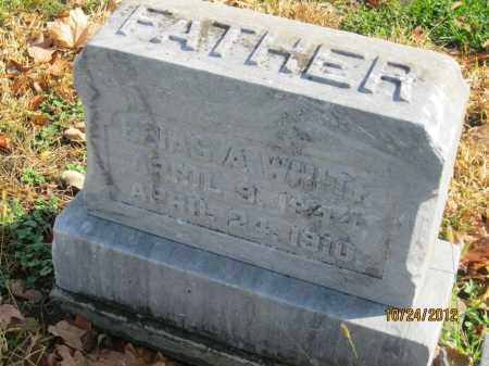 WHITE, ELIAS ALKIRE - Franklin County, Ohio | ELIAS ALKIRE WHITE - Ohio Gravestone Photos