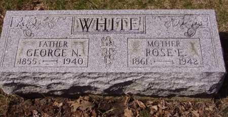 WHITE, GEORGE N. - Franklin County, Ohio | GEORGE N. WHITE - Ohio Gravestone Photos