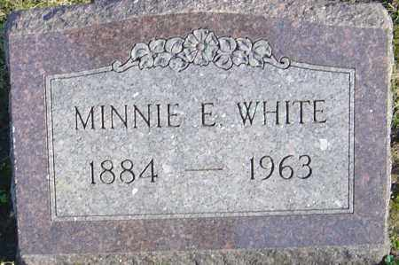 WHITE, MINNIE E - Franklin County, Ohio   MINNIE E WHITE - Ohio Gravestone Photos
