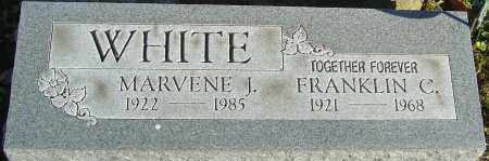 WHITE, MARVENE J - Franklin County, Ohio | MARVENE J WHITE - Ohio Gravestone Photos