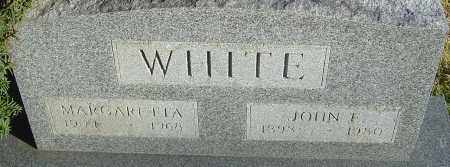 WHITE, MARGARETTA - Franklin County, Ohio | MARGARETTA WHITE - Ohio Gravestone Photos