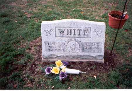 WHITE, VIRGINIA M. - Franklin County, Ohio | VIRGINIA M. WHITE - Ohio Gravestone Photos