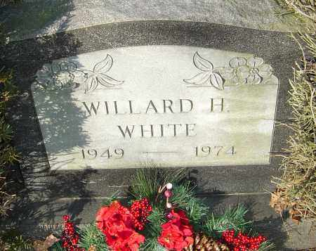 WHITE, WILLARD H - Franklin County, Ohio | WILLARD H WHITE - Ohio Gravestone Photos