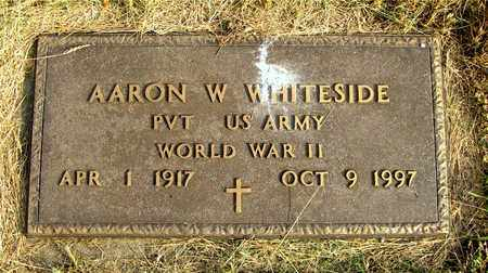 WHITESIDE, AARON W. - Franklin County, Ohio | AARON W. WHITESIDE - Ohio Gravestone Photos
