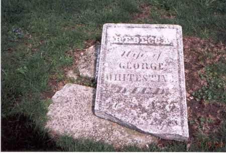 WHITESTINE, REBECCA - Franklin County, Ohio | REBECCA WHITESTINE - Ohio Gravestone Photos