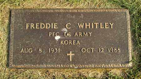 WHITLEY, FREDDIE C. - Franklin County, Ohio | FREDDIE C. WHITLEY - Ohio Gravestone Photos
