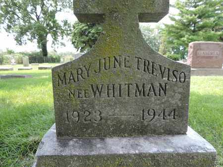 WHITMAN, MARY JUNE - Franklin County, Ohio | MARY JUNE WHITMAN - Ohio Gravestone Photos