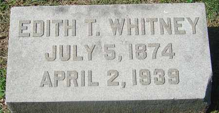 TURNER WHITNEY, EDITH - Franklin County, Ohio | EDITH TURNER WHITNEY - Ohio Gravestone Photos