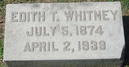 WHITNEY, EDITH - Franklin County, Ohio | EDITH WHITNEY - Ohio Gravestone Photos