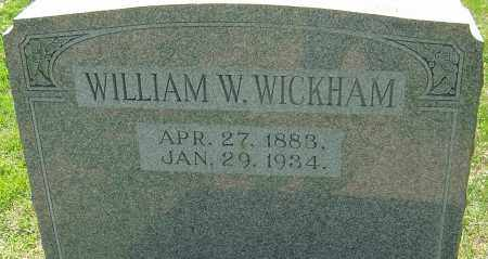 WICKHAM, WILLIAM WALLACE - Franklin County, Ohio | WILLIAM WALLACE WICKHAM - Ohio Gravestone Photos