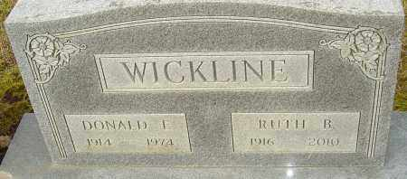 WICKLINE, RUTH B - Franklin County, Ohio | RUTH B WICKLINE - Ohio Gravestone Photos