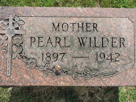 WIDER, PEARL - Franklin County, Ohio | PEARL WIDER - Ohio Gravestone Photos