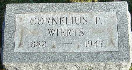 WIERTS, CORNELIUS P - Franklin County, Ohio | CORNELIUS P WIERTS - Ohio Gravestone Photos