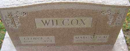 WILCOX, GEORGE ALBERT - Franklin County, Ohio | GEORGE ALBERT WILCOX - Ohio Gravestone Photos
