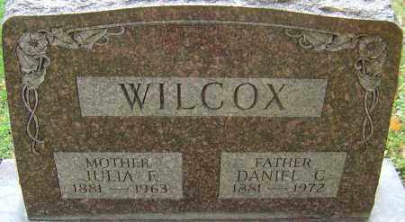 WILCOX, JULIA - Franklin County, Ohio | JULIA WILCOX - Ohio Gravestone Photos