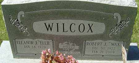 WILCOX, ROBERT J - Franklin County, Ohio | ROBERT J WILCOX - Ohio Gravestone Photos