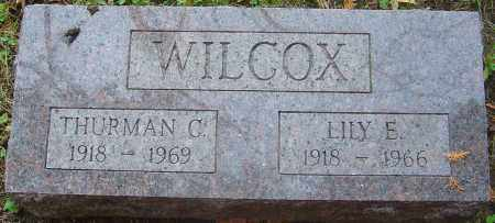 WILCOX, THURMAN C - Franklin County, Ohio | THURMAN C WILCOX - Ohio Gravestone Photos
