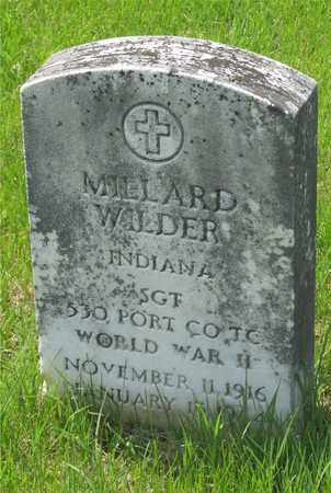 WILDER, MILLARD - Franklin County, Ohio | MILLARD WILDER - Ohio Gravestone Photos