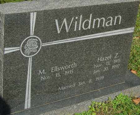 WILDMAN, HAZEL - Franklin County, Ohio | HAZEL WILDMAN - Ohio Gravestone Photos