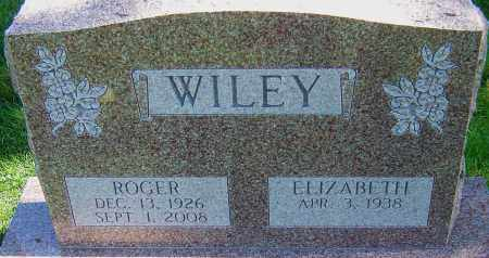 WILEY, ROGER - Franklin County, Ohio | ROGER WILEY - Ohio Gravestone Photos