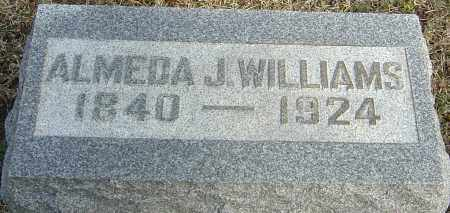 WILLIAMS, ALMEDA J - Franklin County, Ohio | ALMEDA J WILLIAMS - Ohio Gravestone Photos