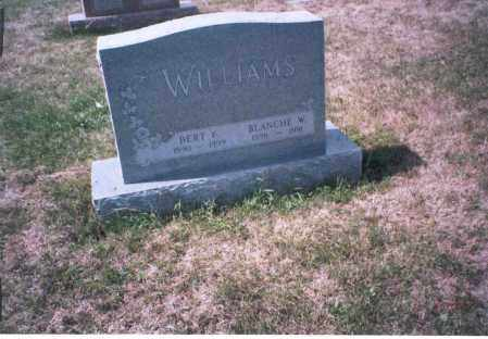 WILLIAMS, BLANCHE W. - Franklin County, Ohio | BLANCHE W. WILLIAMS - Ohio Gravestone Photos