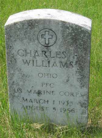 WILLIAMS, CHARLES F. - Franklin County, Ohio | CHARLES F. WILLIAMS - Ohio Gravestone Photos