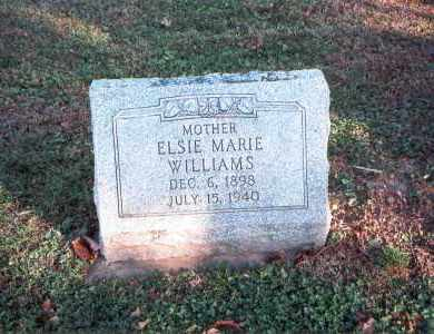 ELMORE WILLIAMS, ELSIE MARIE - Franklin County, Ohio | ELSIE MARIE ELMORE WILLIAMS - Ohio Gravestone Photos