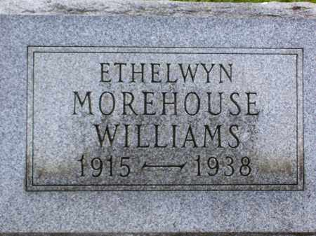 MOREHOUSE WILLIAMS, ETHELWYN - Franklin County, Ohio | ETHELWYN MOREHOUSE WILLIAMS - Ohio Gravestone Photos