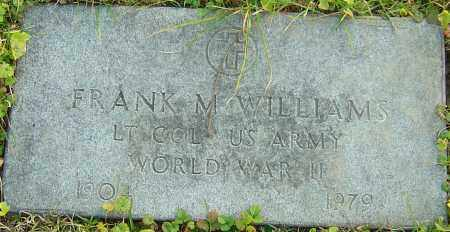 WILLIAMS, FRANK - Franklin County, Ohio | FRANK WILLIAMS - Ohio Gravestone Photos