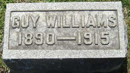 WILLIAMS, GUY - Franklin County, Ohio | GUY WILLIAMS - Ohio Gravestone Photos