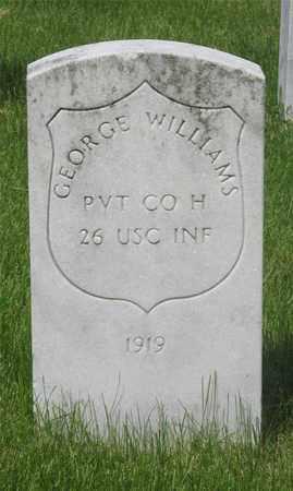 WILLIAMS, GEORGE - Franklin County, Ohio | GEORGE WILLIAMS - Ohio Gravestone Photos