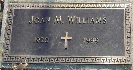 WILLIAMS, JOAN - Franklin County, Ohio | JOAN WILLIAMS - Ohio Gravestone Photos